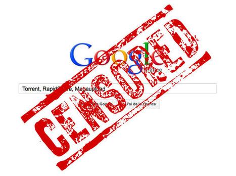 Google va peut-être commencer à censurer les résultats de recherche en France | Le blog des nouvelles technologies : Web, Technologies, Développement, Interopérabilité | Lectures web | Scoop.it
