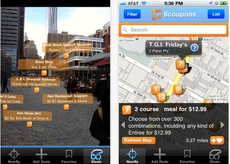 8coupons: Find Deals in Your Area Your Way – Maps, Lists, Augmented Reality - SocialTimes.com | Augmented Reality News and Trends | Scoop.it