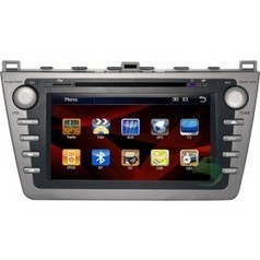 In-Dash OEM Upgrade Car DVD Player Multimedia Navigation System for Mazda 6 with GPS Radio TV Bluetooth | car dvd gps | Scoop.it