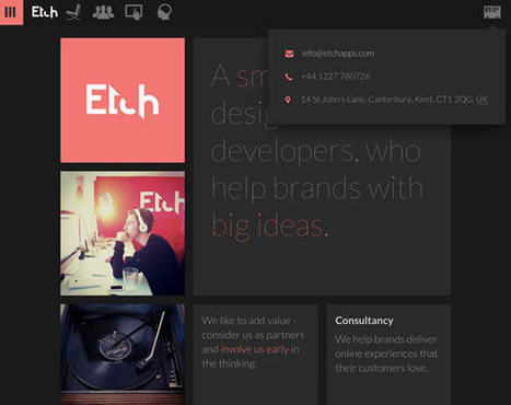 21 Inspiring Examples of Contact Pages and Forms | Inspiration | Paperpixel Web dev | Scoop.it