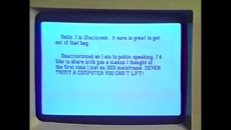 Exclusive: Watch Steve Jobs' First Demonstration of the Mac for the Public, Unseen Since 1984   TIME.com   Usability   Scoop.it