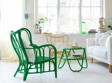 Ikea collection Nipprig en rotin, bambou : panier, suspension, fauteuil... | Cuisine & Déco de Melodie68 | Scoop.it
