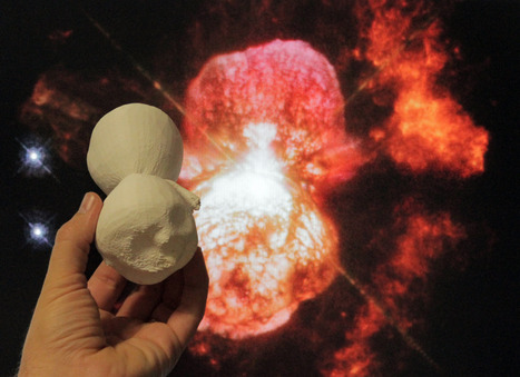3D model of Eta Carinae, a binary star system over 5 million times more luminous than the sun | Amazing Science | Scoop.it