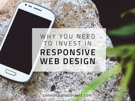 Why You Need to Invest in Responsive Web Design | WordPress Website Optimization | Scoop.it