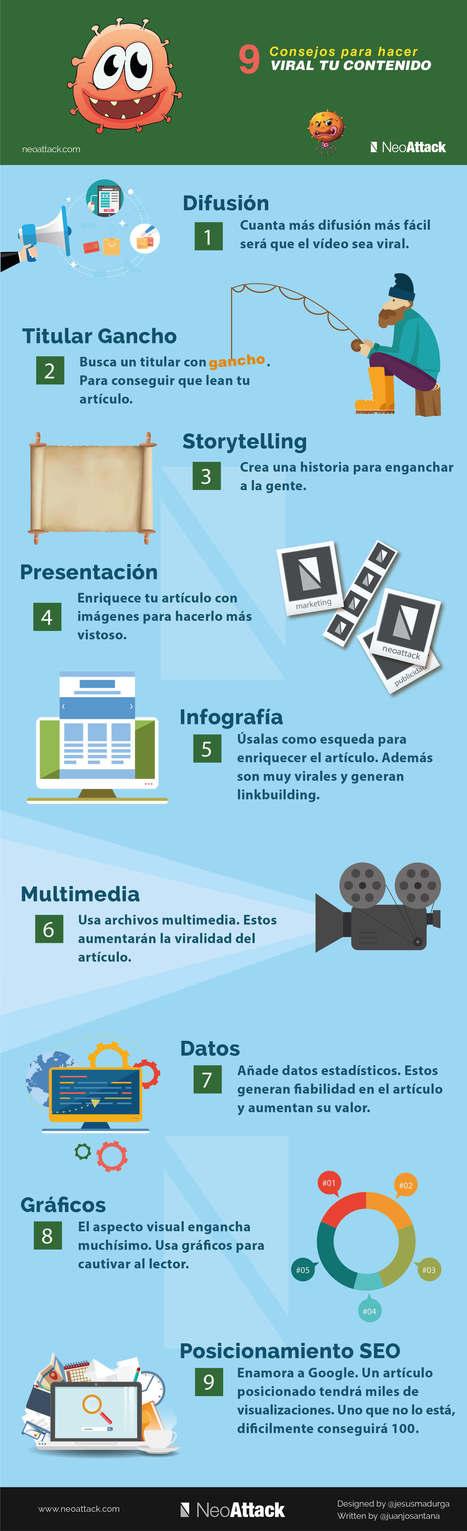9 consejos para hacer viral tu contenido | Las Tics y las ciencias de la informacion | Scoop.it