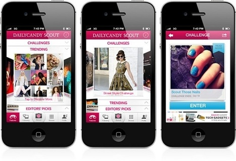 DailyCandy's New Scout App Is Like Foursquare Meets Pinterest | Pinterest | Scoop.it