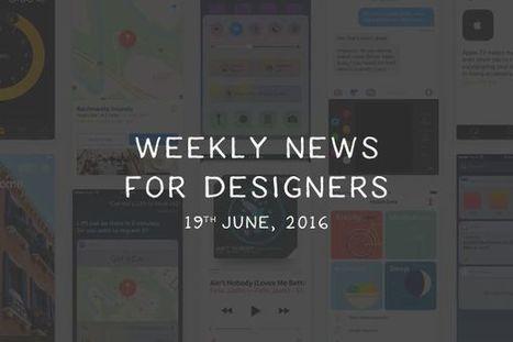 Weekly News for Designers (N.339) Google Fonts, Typography Handbook, Living Styleguide | Veille perso | Scoop.it