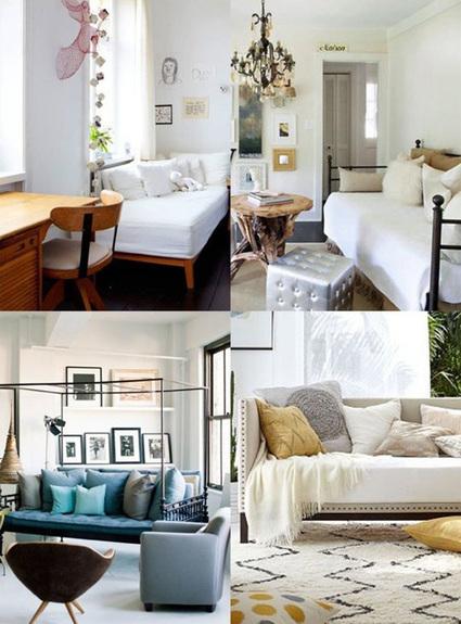 Nghĩ cách khắc phục phòng ngủ chật hẹp | Noi that | Scoop.it
