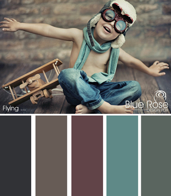 Color Inspiration: Flying | Typography & Color Inspirations | Scoop.it