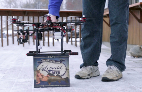 Beer buzz? FAA grounds plan to deliver 12-packs by drone | Rise of the Drones | Scoop.it