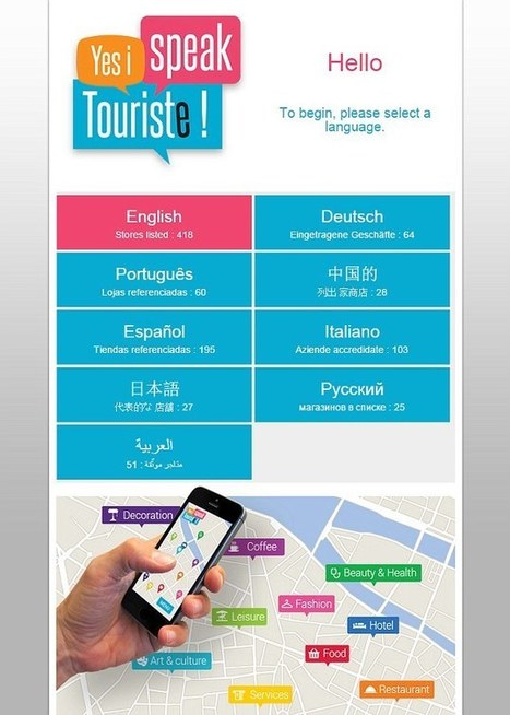 Paris launches app that shows tourists where they will be understood | Kickin' Kickers | Scoop.it