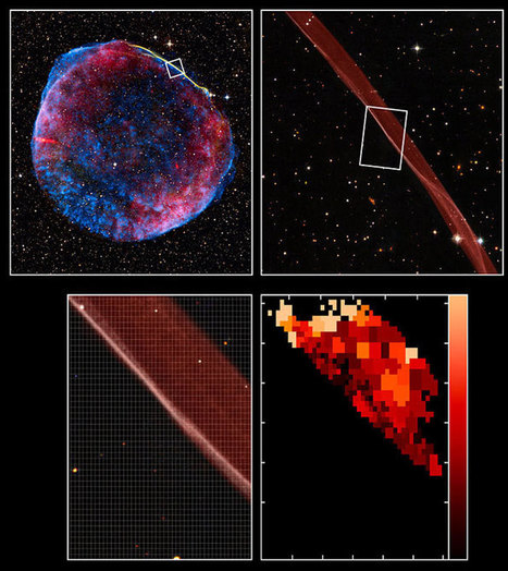 SN1006: Many times brighter than Venus and visible during the day - the story of a supernova | Amazing Science | Scoop.it