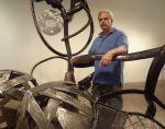 Sculptor traded office job for scraps - San Antonio Express | Metal Art | Scoop.it