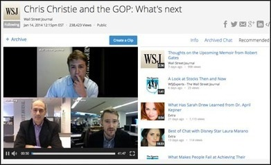 Tool for journalists: Spreecast, for social video conversations | Media news | The Live Social TV Experience | Scoop.it