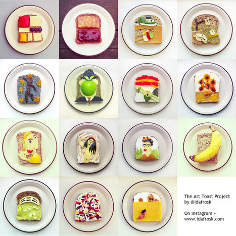idafrosk: the food art blog: The Art Toast Project | Stretching our comfort zone | Scoop.it