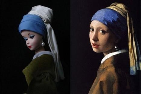 Barbie As Famous Works Of Art   VIM   Scoop.it