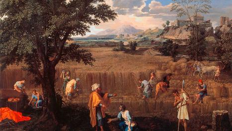 Poussin relit la Bible à travers ses «Saisons» | Arts et FLE | Scoop.it