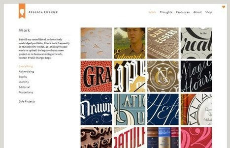 25 Beautiful Designer Portfolio Websites | Web Design & Development | Scoop.it