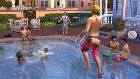 Les Sims - Top 10 des Astuces pour la Construction de Piscines - Site officiel | Illustration - animation - déco - peinture et sculpture | Scoop.it