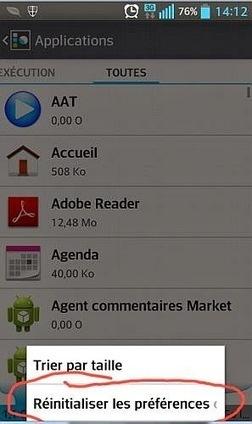 Réinitialiser toutes les applications sur votre mobile Android | netnavig | Scoop.it