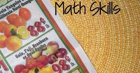 Using Grocery Flyers To Practice Math Skills | Linguarum - Jeziki | Scoop.it