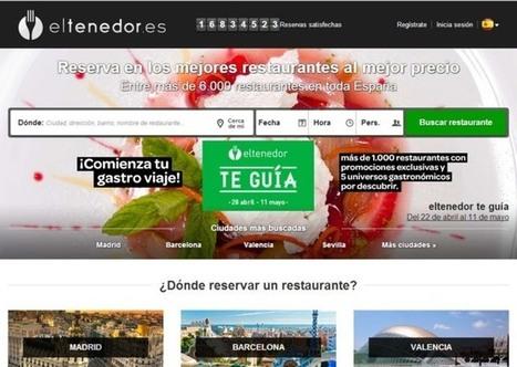 Tripadvisor compra 'El Tenedor' - El Mundo | Gastronomía en casa | Scoop.it