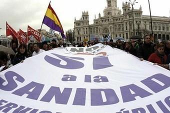 """Gremio médico marcha para exigir una """"reforma sanitaria"""" en Madrid - teleSUR TV   Derecho A Saber   Scoop.it"""