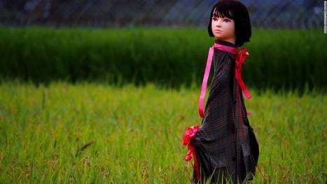 Japan's creepy mannequin head scarecrows - CNN.com | AP Human Geography | Scoop.it