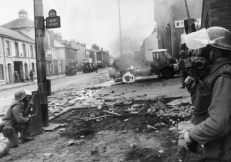 The line of fire: The role of Scottish troops in theTroubles - Books - Scotsman.com | YES for an Independent Scotland | Scoop.it
