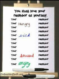 Love Thy (fill in the blank) Neighbor. | Everyday Evangelizer | Scoop.it