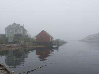 Peggy's Cove Fishing village in the Fog, Nova Scotia | Nova Scotia Fishing | Scoop.it