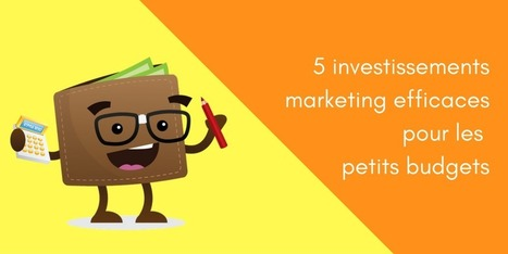 Comment être performant quand on a un petit budget marketing | Marketing and branding for small business | Scoop.it