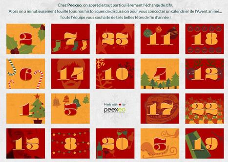 Peexeo lance aussi son calendrier de l'Avent en Gifs ! | Experience Transmedia | Experience Transmedia | Scoop.it