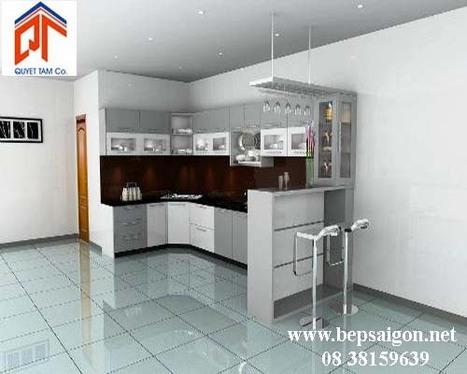 bepsaigon.net - Tủ bếp nhà Anh Huyền - tu bep nha anh huyen | Tủ bếp Acrylic - MFC | Scoop.it