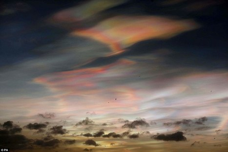 'Rainbow clouds' captured on camera | My Scotland | Scoop.it