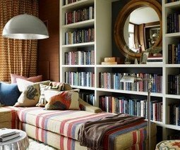 50 Jaw-dropping home library design ideas | School Library Design Planning | Scoop.it