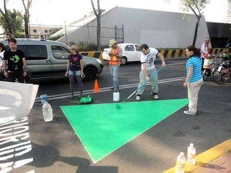 WikiCity: How Tactical Urbanism is Improving Mexico City for Pedestrians and Cyclists | URBANmedias | Scoop.it