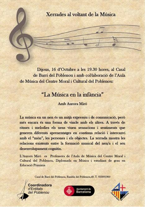 CICLE DE MUSICA AL CASAL | annapoble9 | Scoop.it
