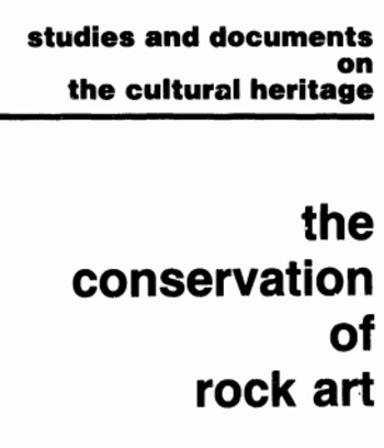 (EN) (PDF) - The conservation of rock art: two studies and illustrated glossary   unesco.org   Glossarissimo!   Scoop.it