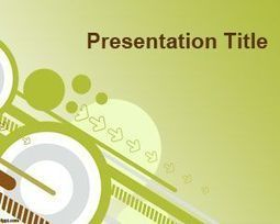 Going green PowerPoint Template | Free  PowerPoint Templates | Scoop.it