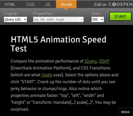 Myth Busting: CSS Animations vs. JavaScript | Designing a Good Website | Scoop.it