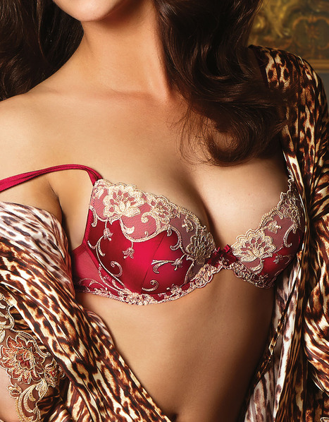 Silk Exception - Lise Charmel | Les Dessous Chics | Scoop.it