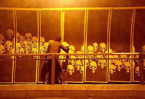 Graffitis inversés d'Alexandre Orion | freehand illustration and graphic design | Scoop.it