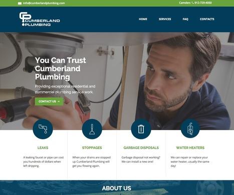 Cumberland Plumbing - BCP Design | Web design | Scoop.it