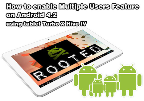 How to enable the Multiple Users Feature on Android 4.2 tablet | Web Development | Scoop.it