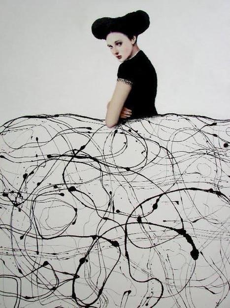 Twitter / SandraApperloo: Black & White #portrait ... | Art | Scoop.it
