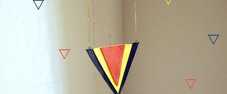 DIY du weekend : le sautoir triangle par Chouette Fille ! | Chouettes tutos | Scoop.it