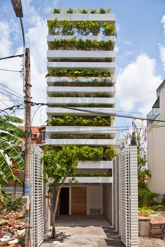 Vo Trong Nghia Architects — Stacking Green | Green Architecture | Scoop.it