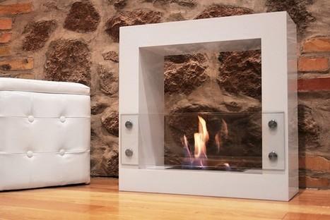 Biocamini d'arredo Lume fireplace Camini d'arredamento senza canna fumaria | Camini bioetanolo | Scoop.it