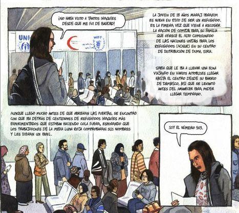 El cómic como soporte de un periodismo de rigor - 233grados.com | Journalistik | Scoop.it